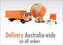 Delivery Australia Wide on all orders