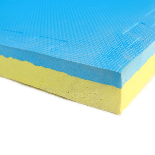 30mm jigsaw mats - blue/yellow