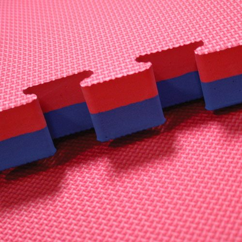 Gig saw Mats in Red and Blue Color
