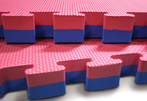 red-blue-40mm jigsaw mats