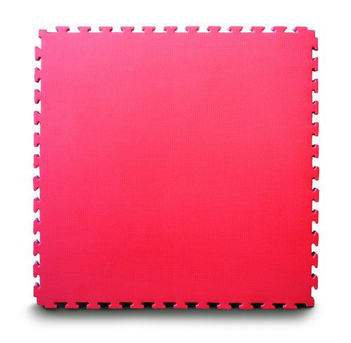 red_jigsaw mat