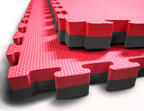 Gym mats made from EVA foam are great training mats