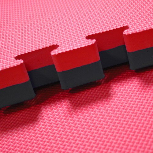 red-black-40mm jigsaw mats