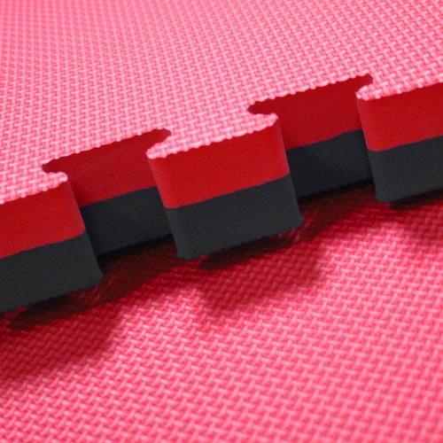 red-black-40mm jigsaw mats
