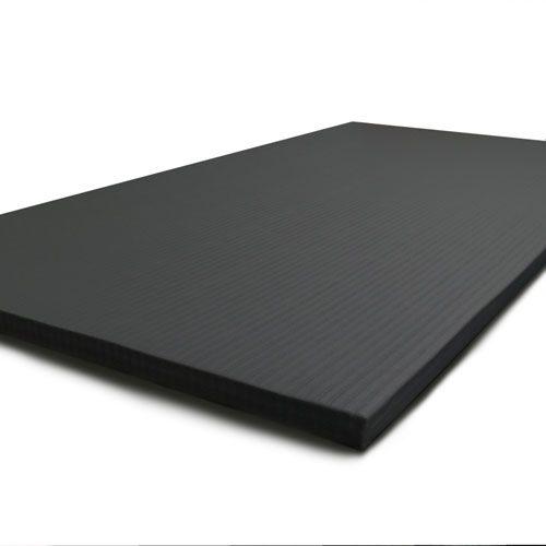 black judo tatami mats