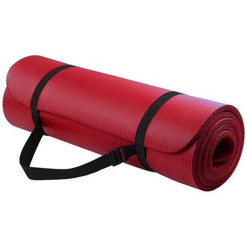 NRB Red Yoga Mat