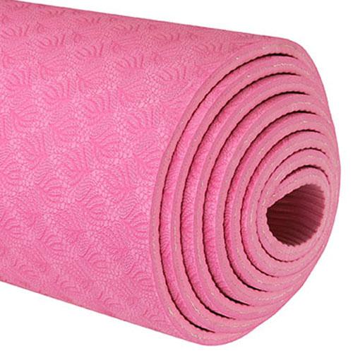 TPE Yoga Mats pink 6mm