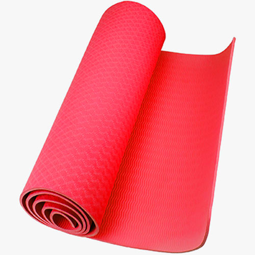 TPE Yoga Mats Red 6mm