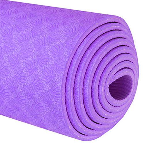 TPE Yoga Mats Violet 6mm 1