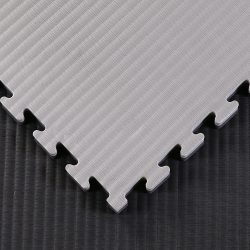 Black / Grey Tatami Jigsaw Mats