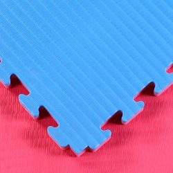 Red Blue Tatami Jigsaw Mats