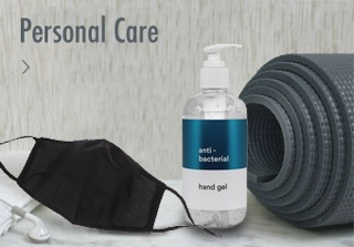 Personal care for training