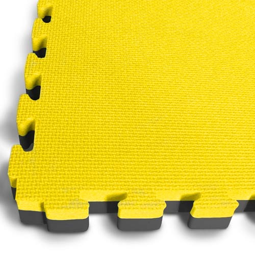 Black Yellow EVA Mats